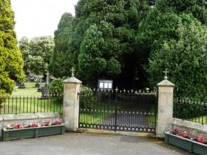 Entrance to Felton Cemetery